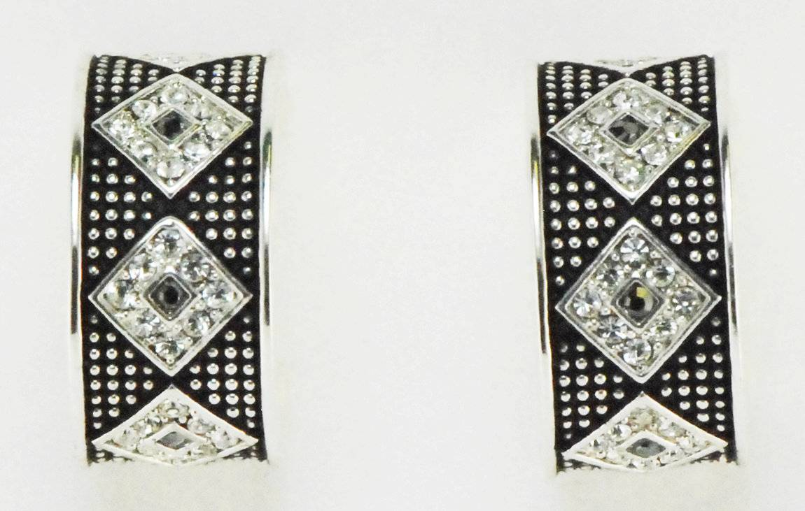 Western Edge Jewelry Diamond Stone Earrings
