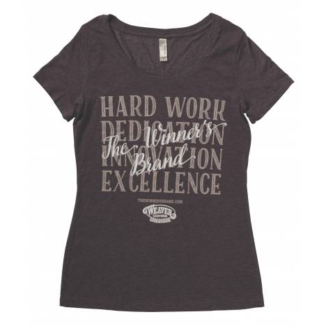 Weaver Ladies Hard Work Fitted T-Shirt