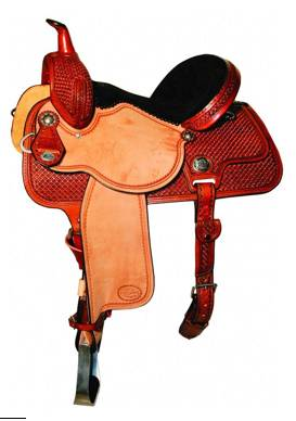 Reinsman 4260 Molly Powell Freedom Fit Barrel Racer Saddle