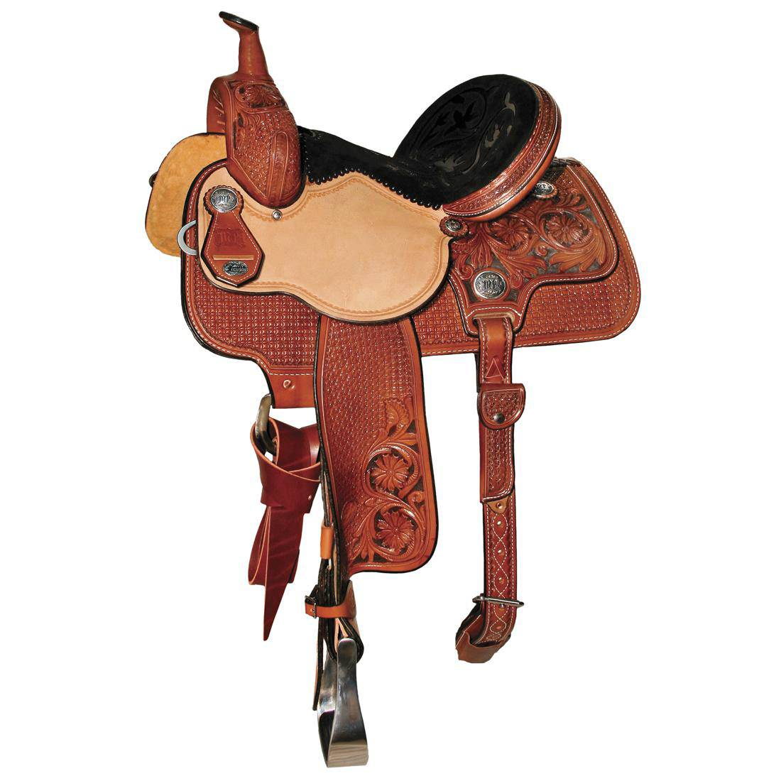 Reinsman 4262 Molly Powell Freedom Fit Barrel Racer Saddle