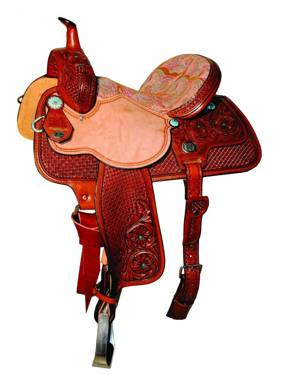Reinsman 4263 Molly Powell Freedom Fit Barrel Racer Saddle