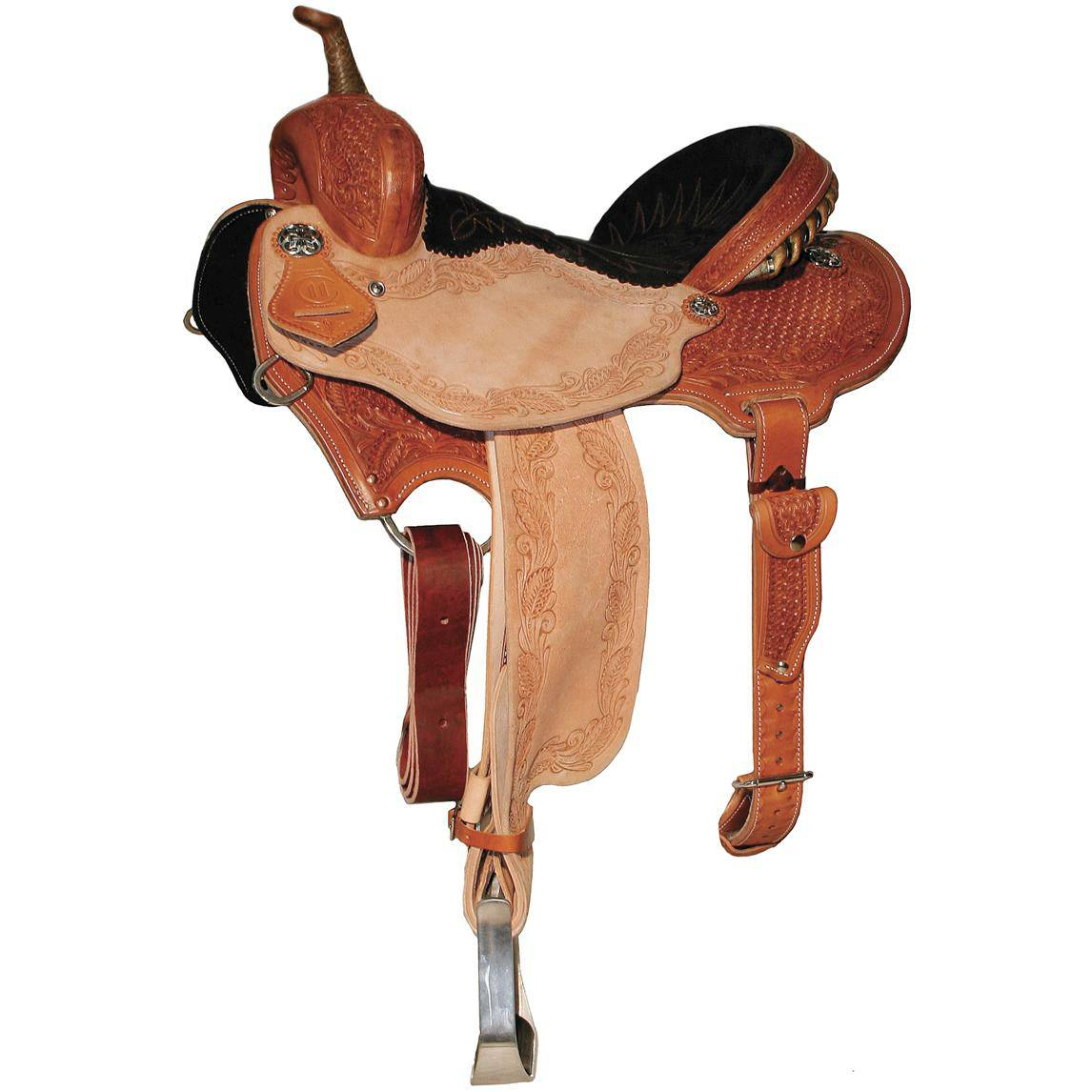 Reinsman 4281 Charmayne James Barrel Racer Saddle-Snowflake Tool