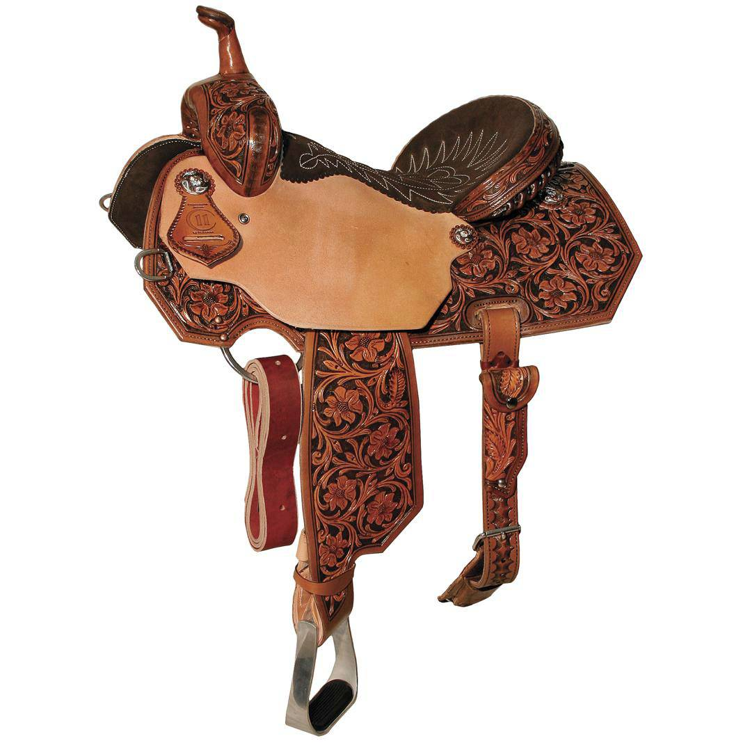 Reinsman 4285 Charmayne James Barrel Racer Saddle-Hand Painted Arizona