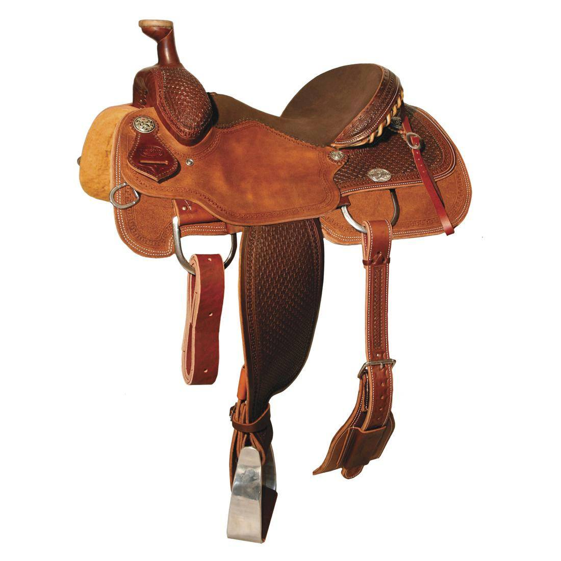 Reinsman 4404 Team Roper Saddle-Spider