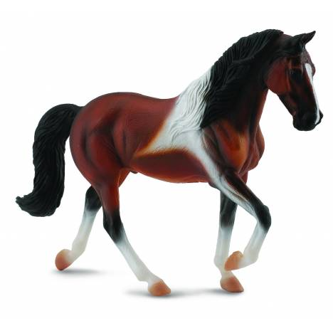 CollectA Tennessee Walking Horse Stallion Bay Pinto