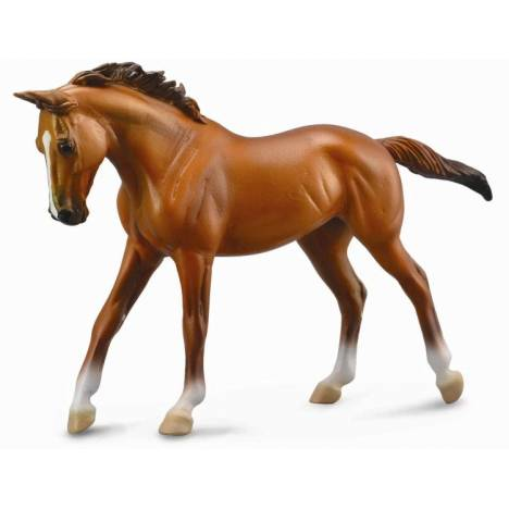 CollectA Thoroughbred Mare Chestnut 1:12 Scale