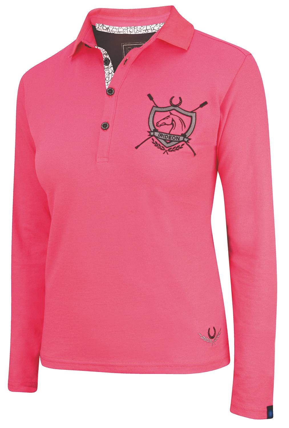 Irideon Kids' Princeton Long Sleeve Polo