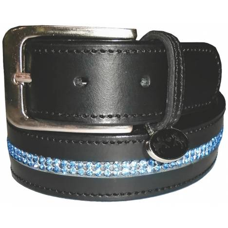 Equine Couture Ladies Double Row Bling Belt