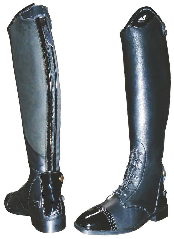 Tuffrider Regal Patent Field Boots Ladies