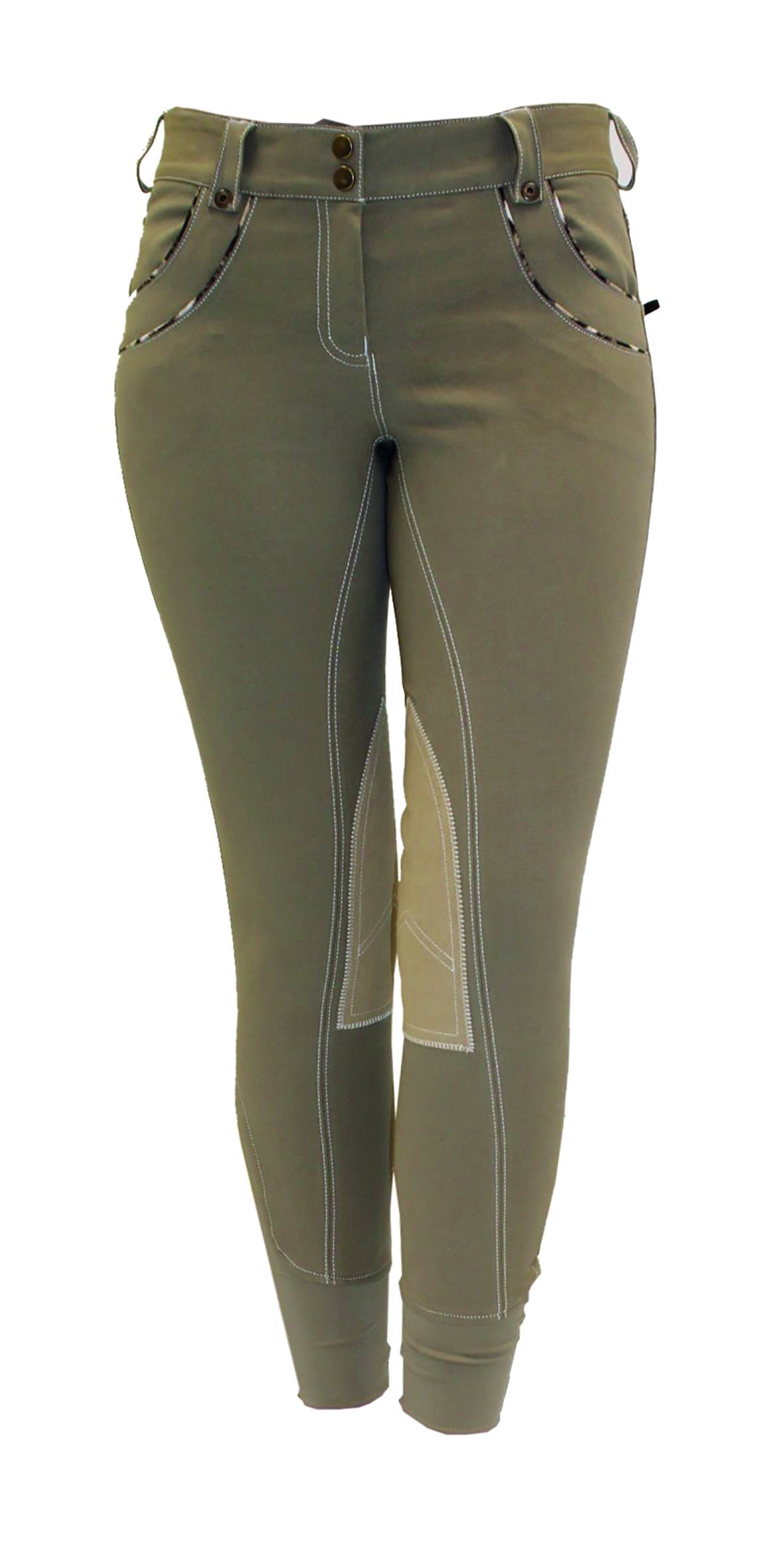 Horseware Polo Ladies' Nina Knee Patch Breeches