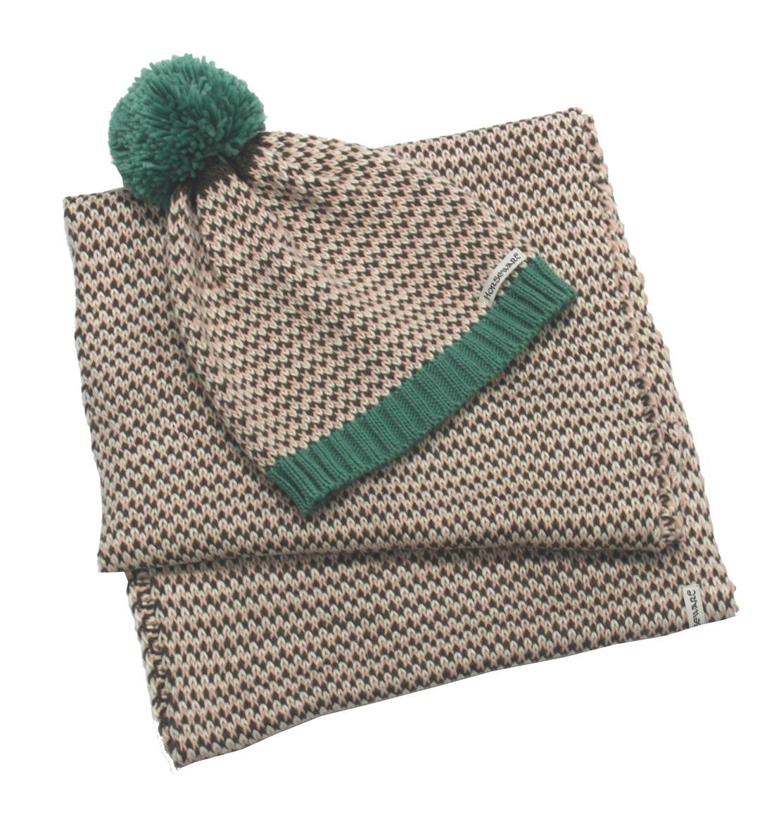 Horseware Ladies' Bobble Hat & Scarf Set