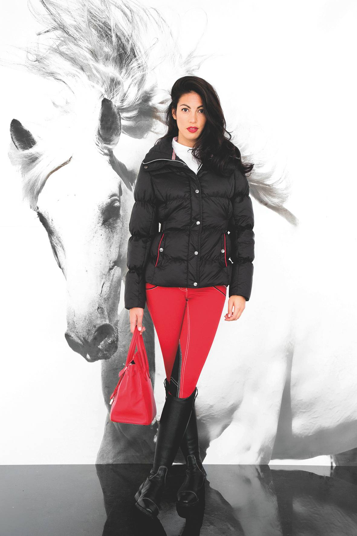 Horseware Platinum Ladies' Aura Padded Down Jacket