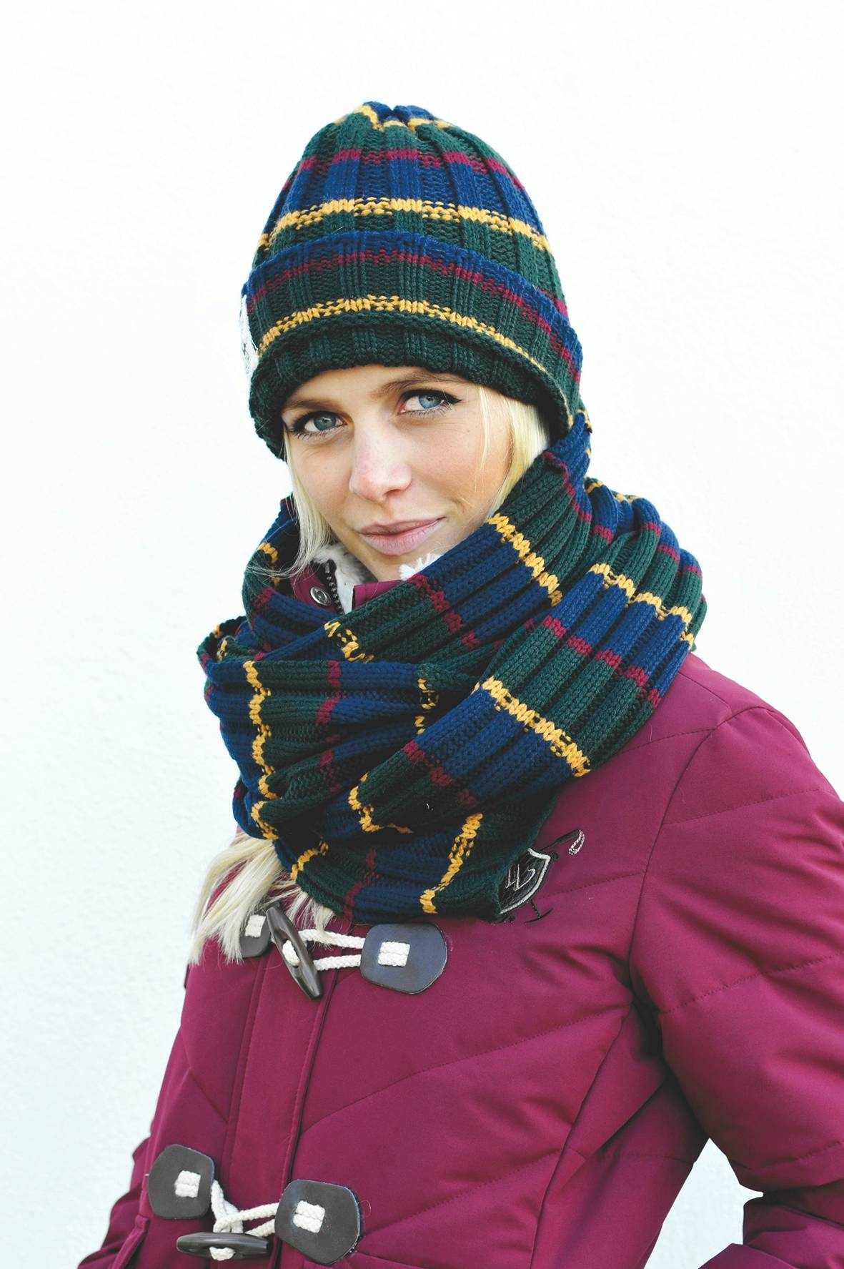 Horseware Polo Hat and Scarf Set
