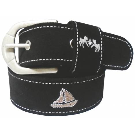 Equine Couture Boat Suede Belt