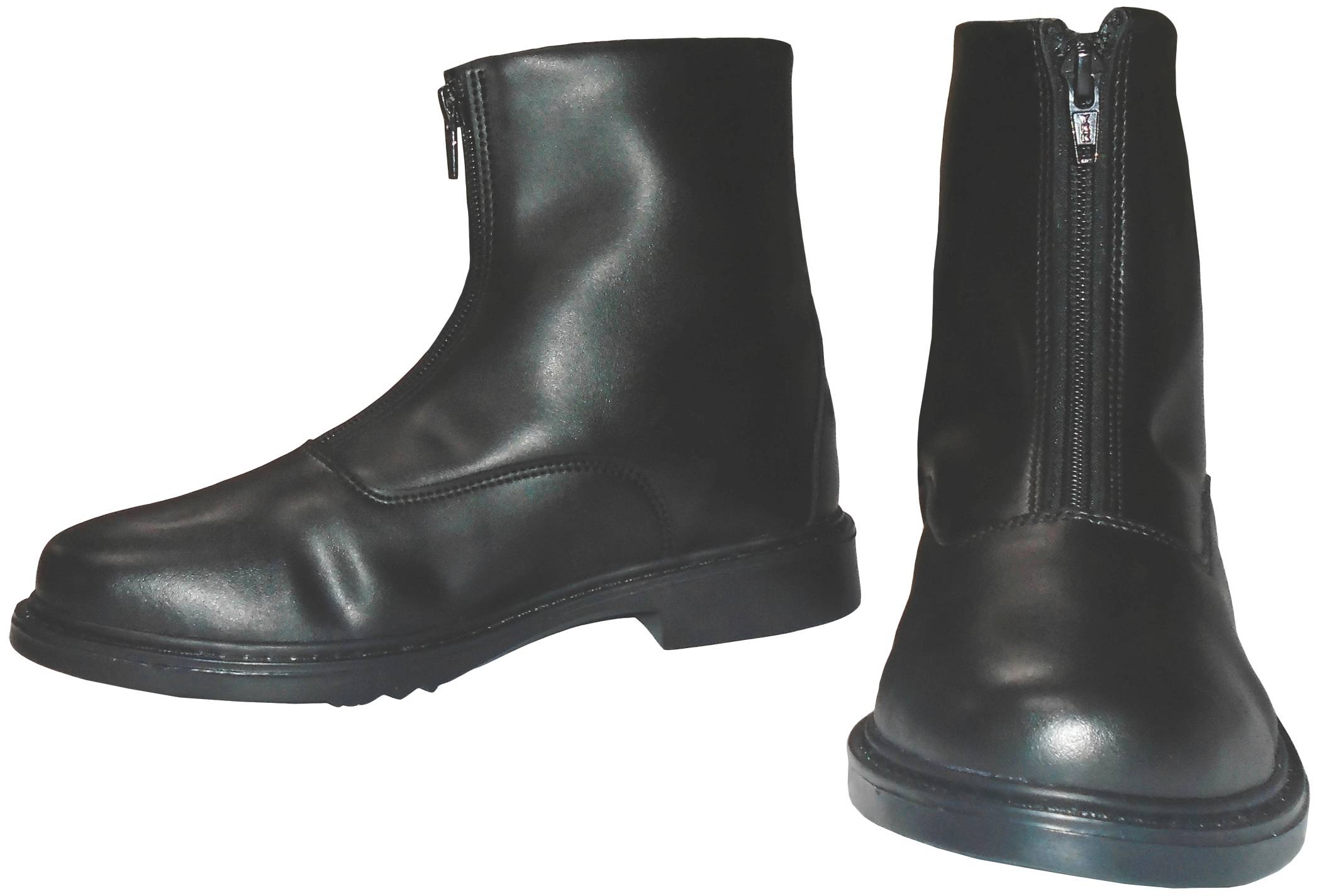 TuffRider Kids Winter Fleece-Lined Front Zip Paddock Boots