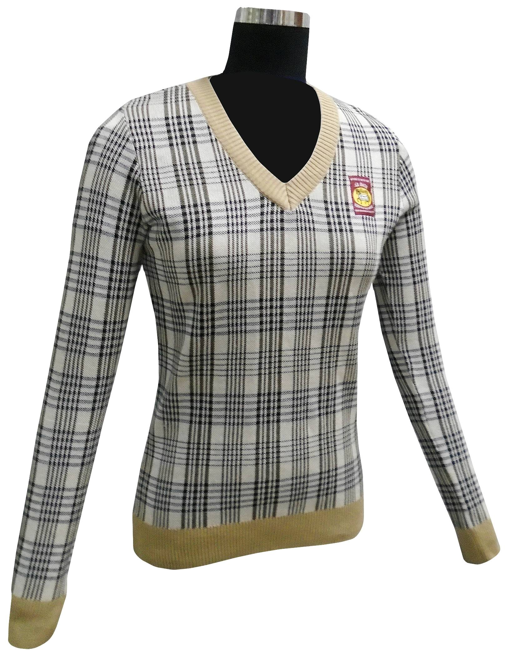 Baker Ladies' Plaid Sweater