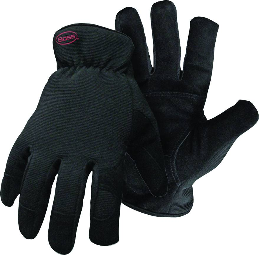 Boss Guard Fleece-Line Glove - Black - Small