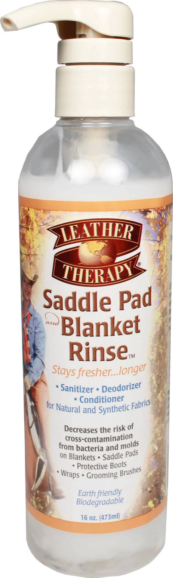 Leather Therapy Saddle Pad And Blanket Rinse - 16 Oz.