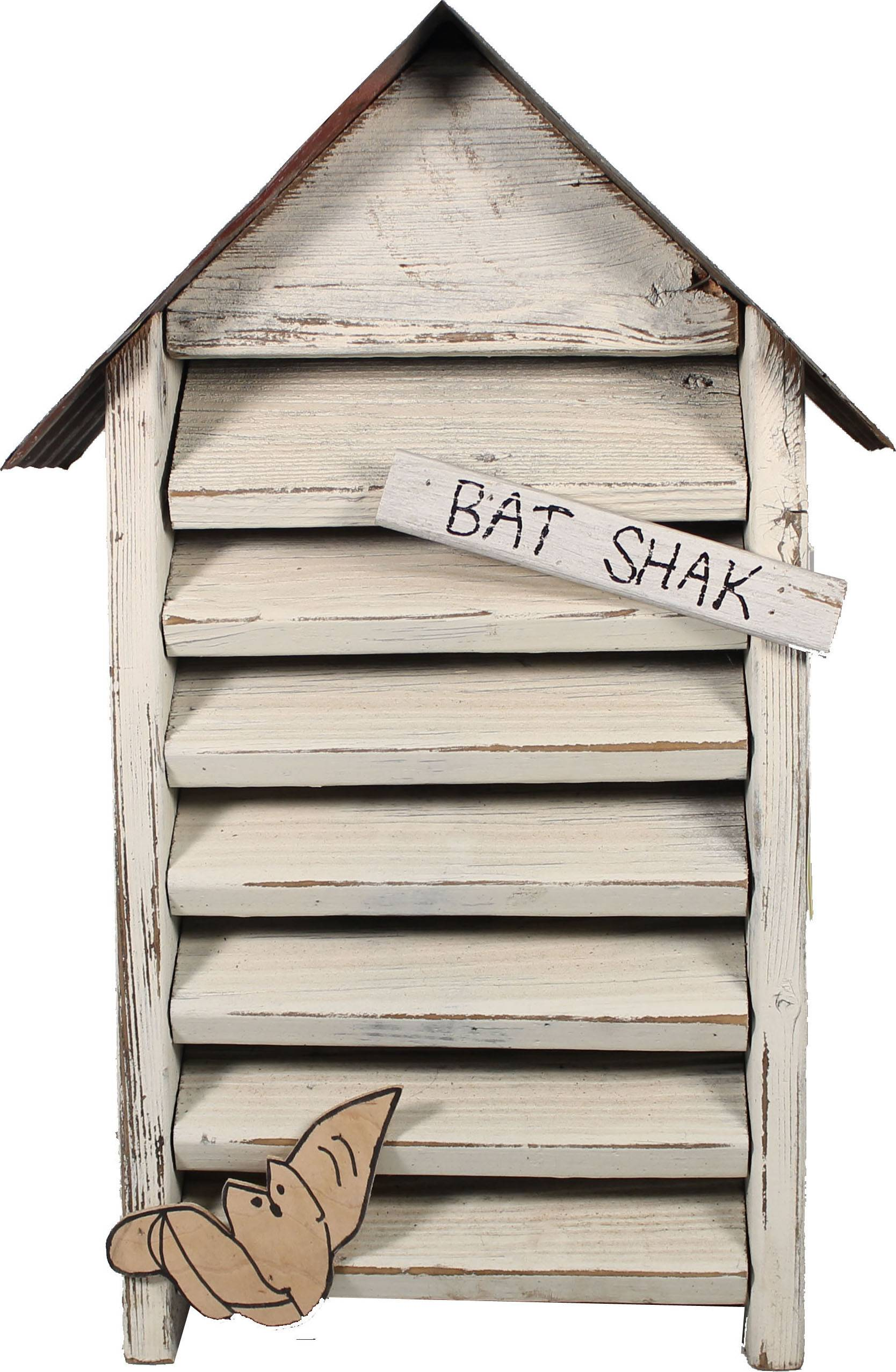 Bat Shak Bat House - White