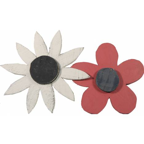 Decorative Wooden Daisy - Assorted