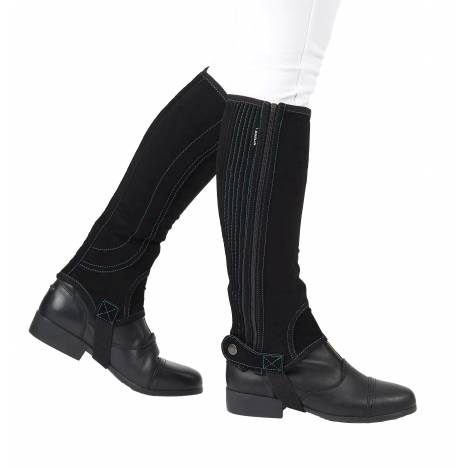Dublin Kids Easy-Care Half Chaps I with Contrast Stitch