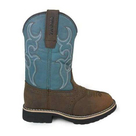 Smoky Mountain Childs Colby Boots - Turquoise