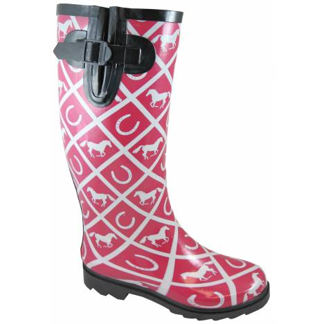 Smoky Mountain Ladies Cheshire Rubber Boots Boots