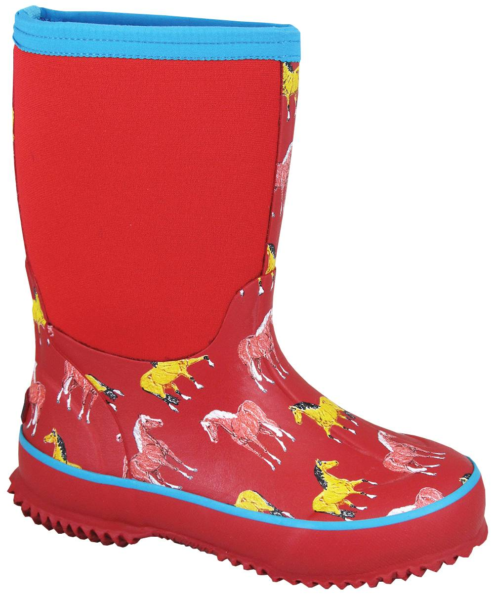 Smoky Mountain Childs Horsin Around Amphibian Boots