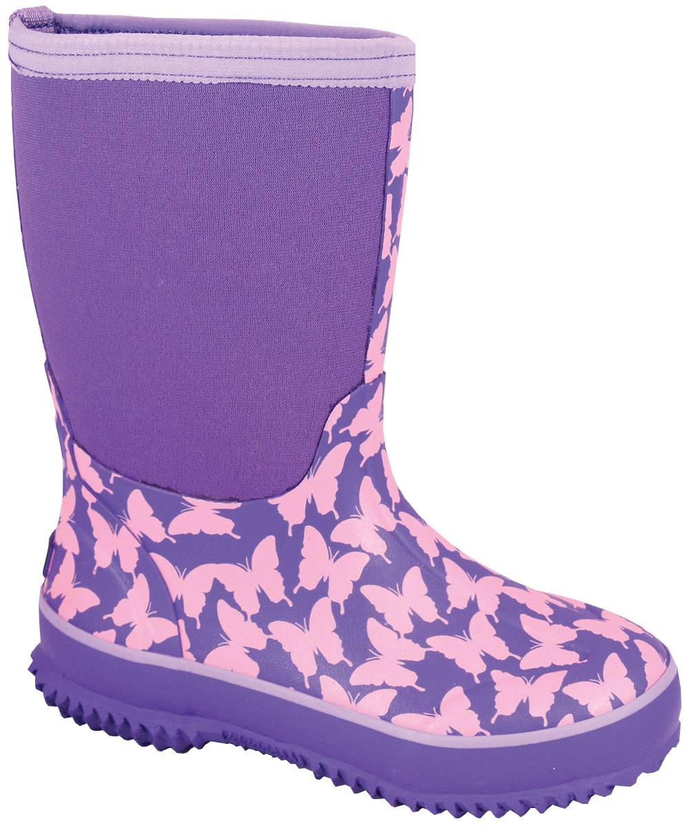 Smoky Mountain Youth Butterfly Amphibian Boots - Pink