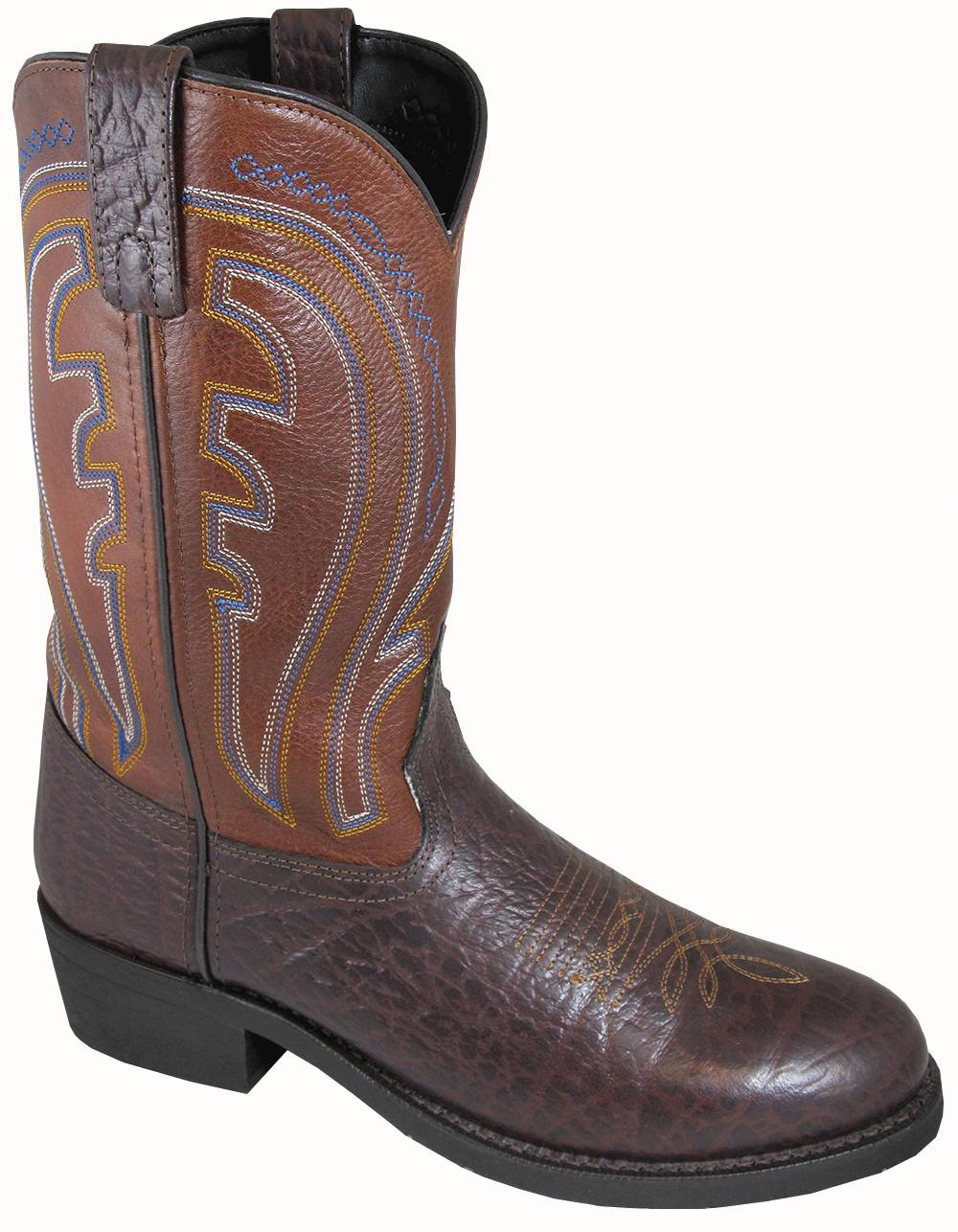 Smoky Mountain Men's Workman Embossed Leather Boot