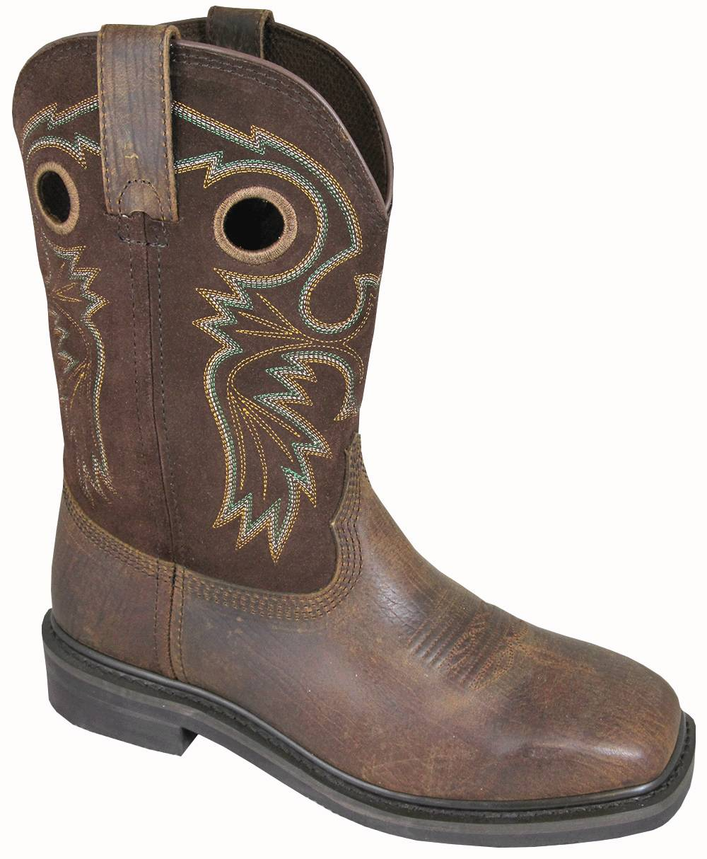 Smoky Mountain Men's Grizzly Square Toe Boots