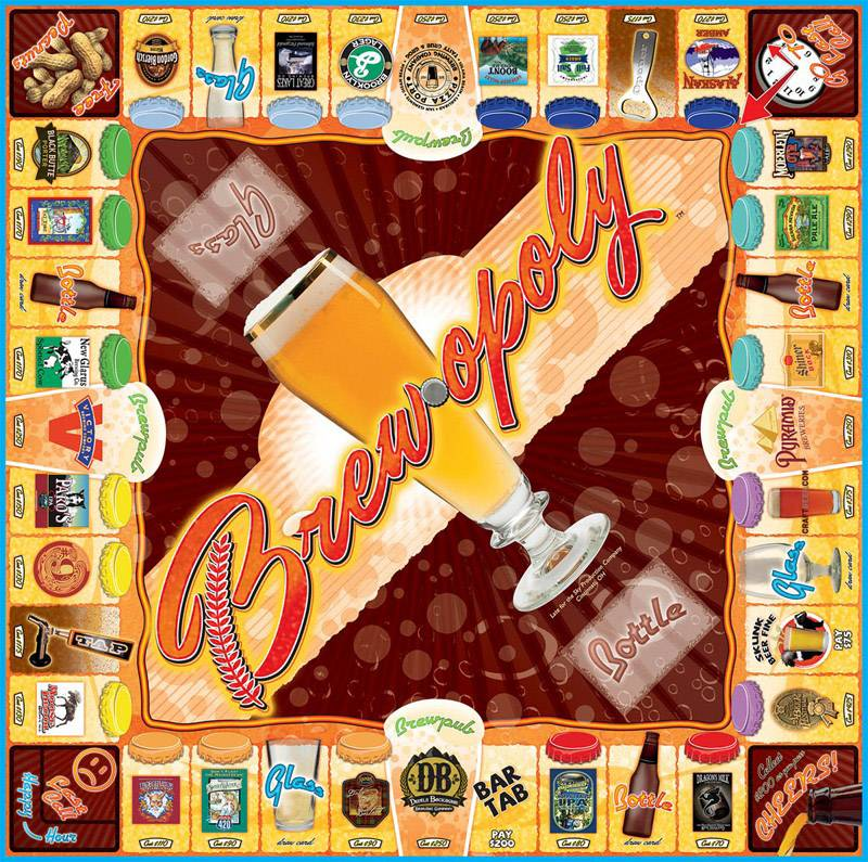 BREW-OPOLY: The Board Game