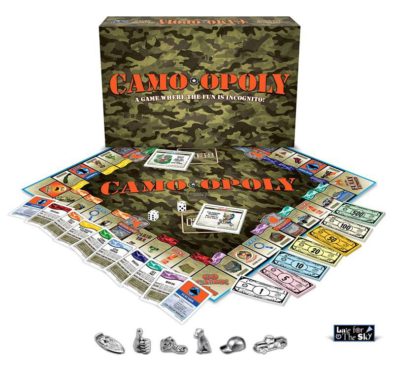 CAMO-OPOLY: The Board Game