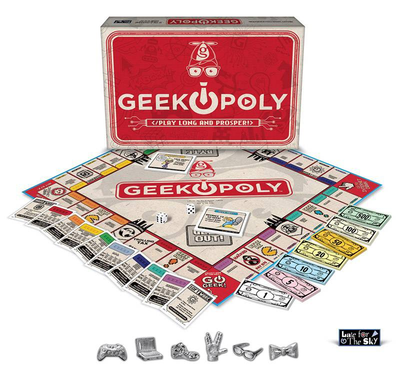 GEEK-OPOLY: The Board Game