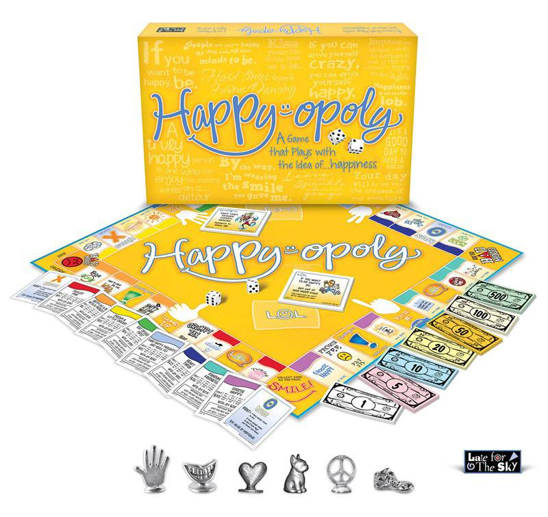 HAPPY-OPOLY: The Board Game