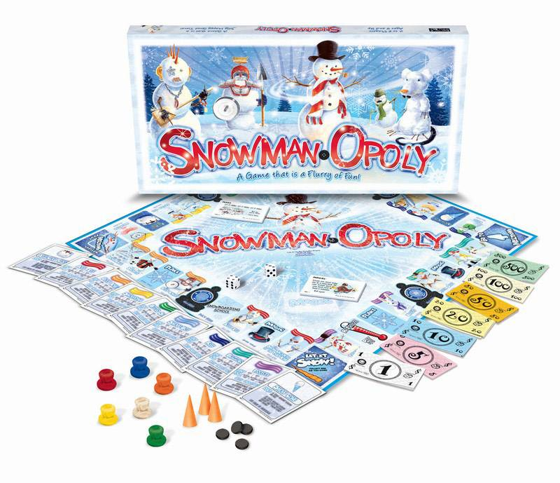 SNOWMAN-OPOLY: The Board Game