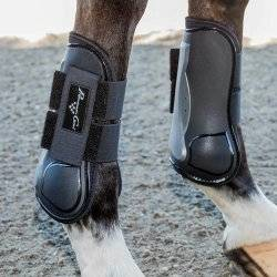 Professional's Choice Pro Performance Memory Foam Open Front Show Jumping Boot - Front