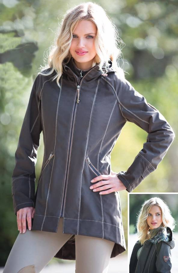 Goode Rider Ladies Singing in the Rain Jacket