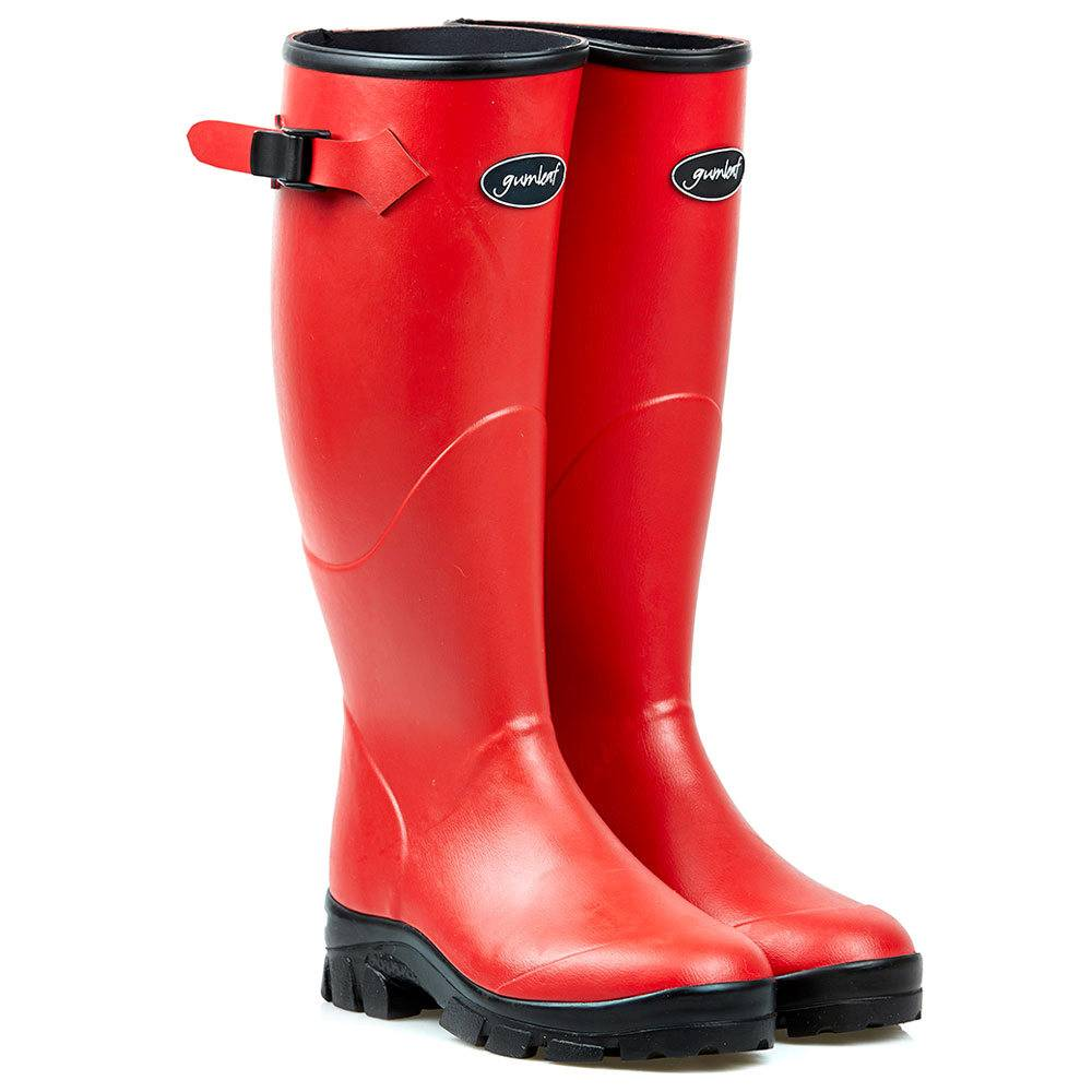 Gumleaf Ladies Red Norse Welly Boot