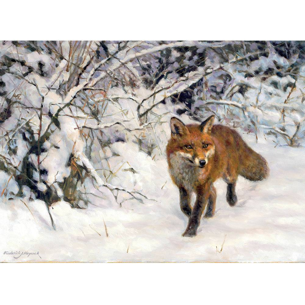 Christmas Cards -Winter Fox -10 Pack