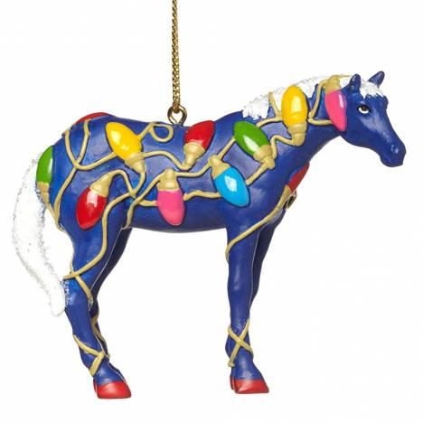 The Trail Of Painted Ponies Tangled Ornament