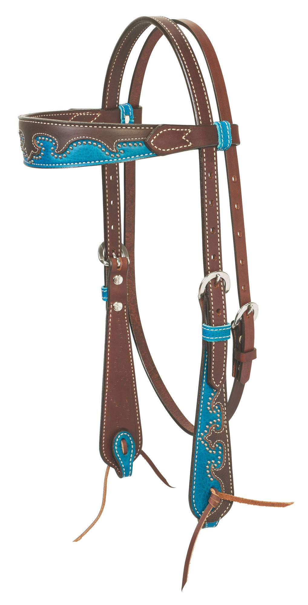 Weaver Wingtip Browband Headstall