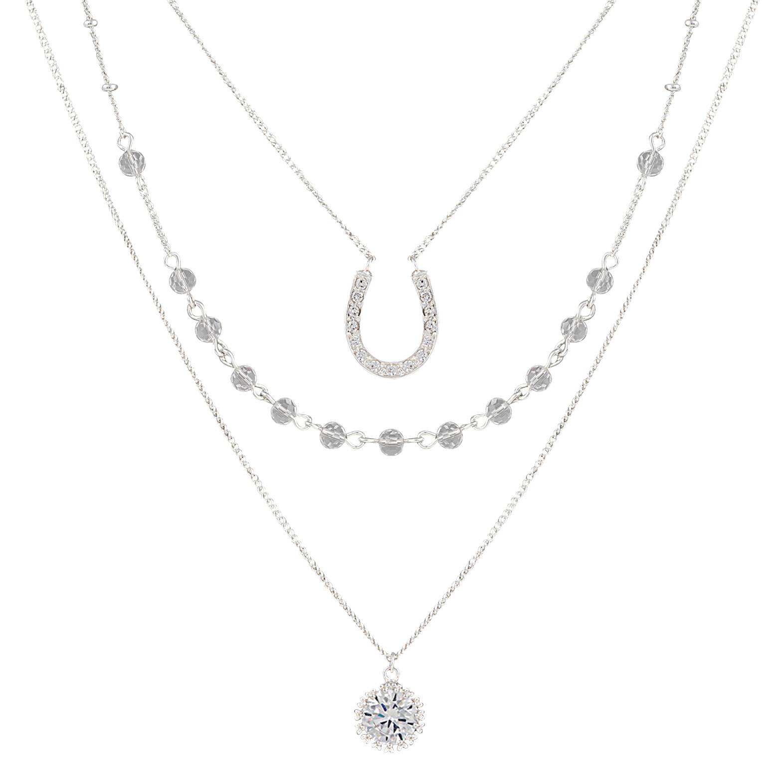Montana Silversmiths Fortune's Snowflake Necklace