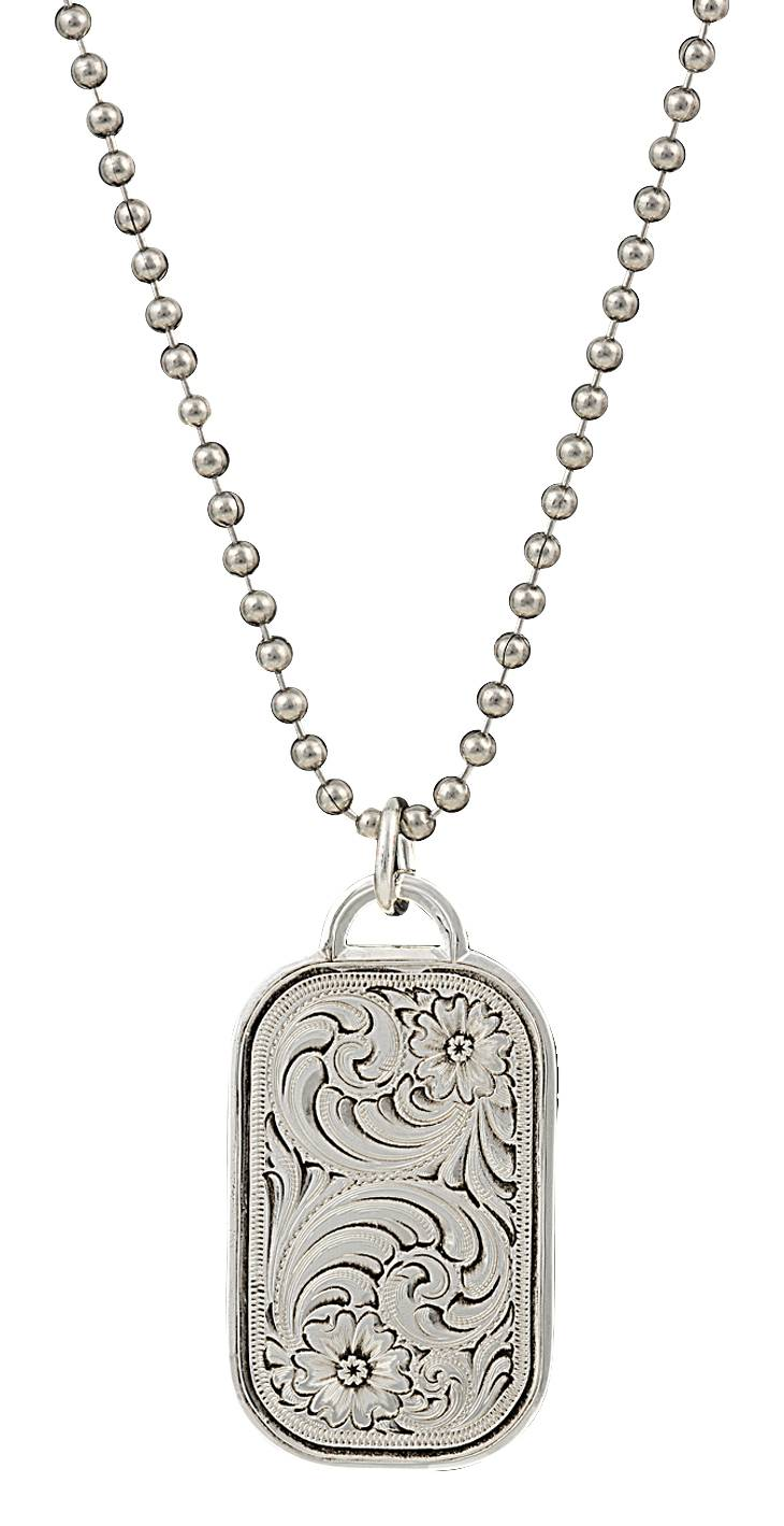 Montana Silversmiths Classic Token Necklace
