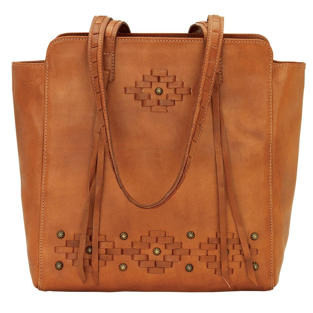 AMERICAN WEST Amber Waves Zip Top Tote