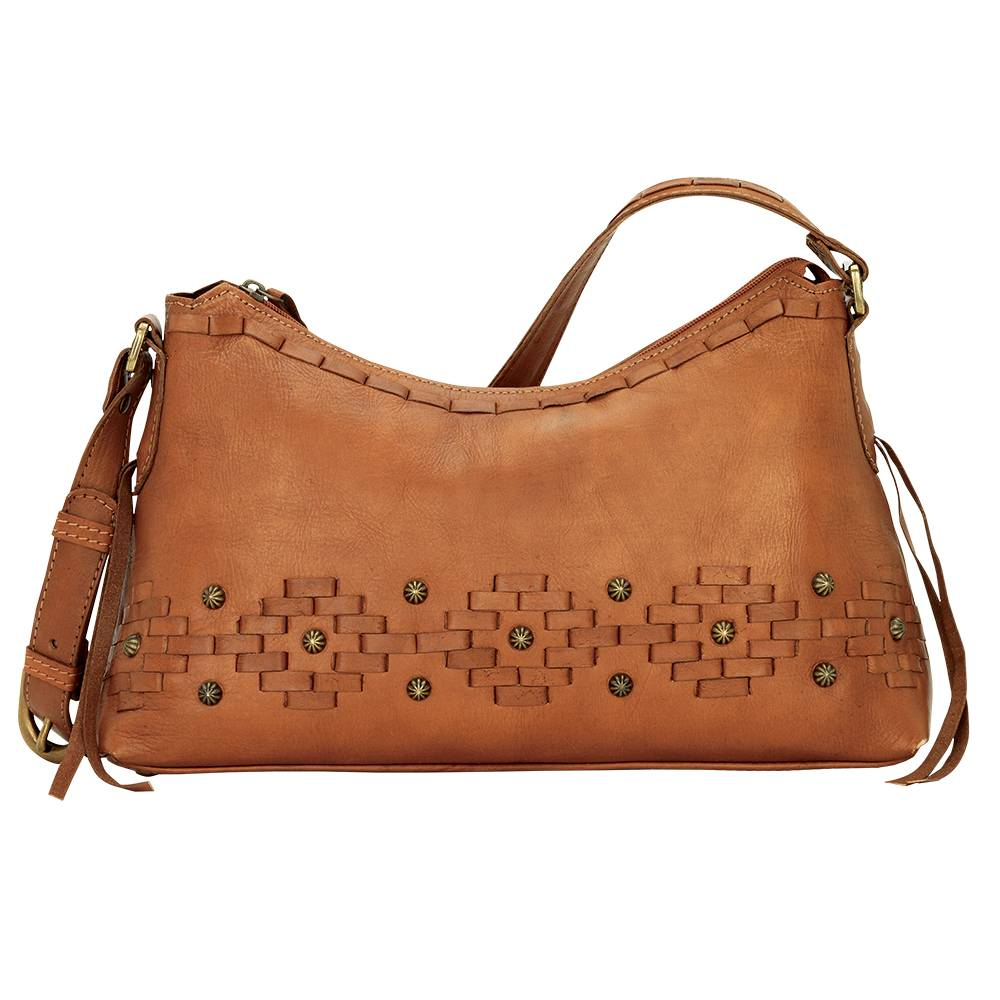 AMERICAN WEST Amber Waves Zip-Top Shoulder Bag