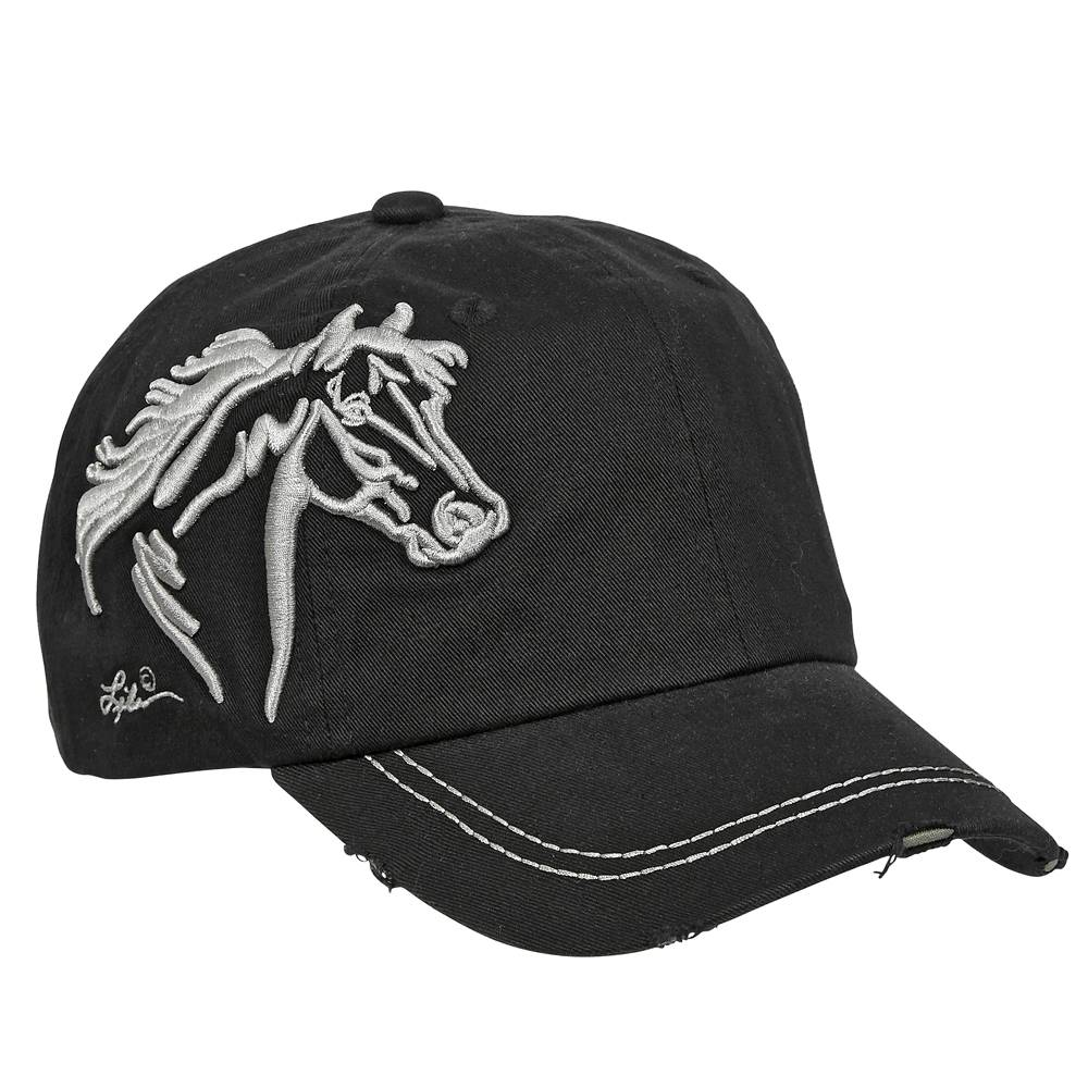 Ladies' Horse Head Low Profile Cap