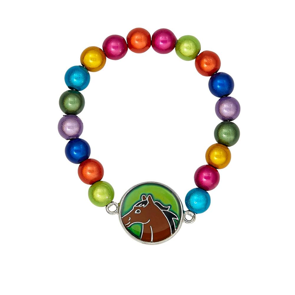 Kids' Horse Head Mood Bracelet