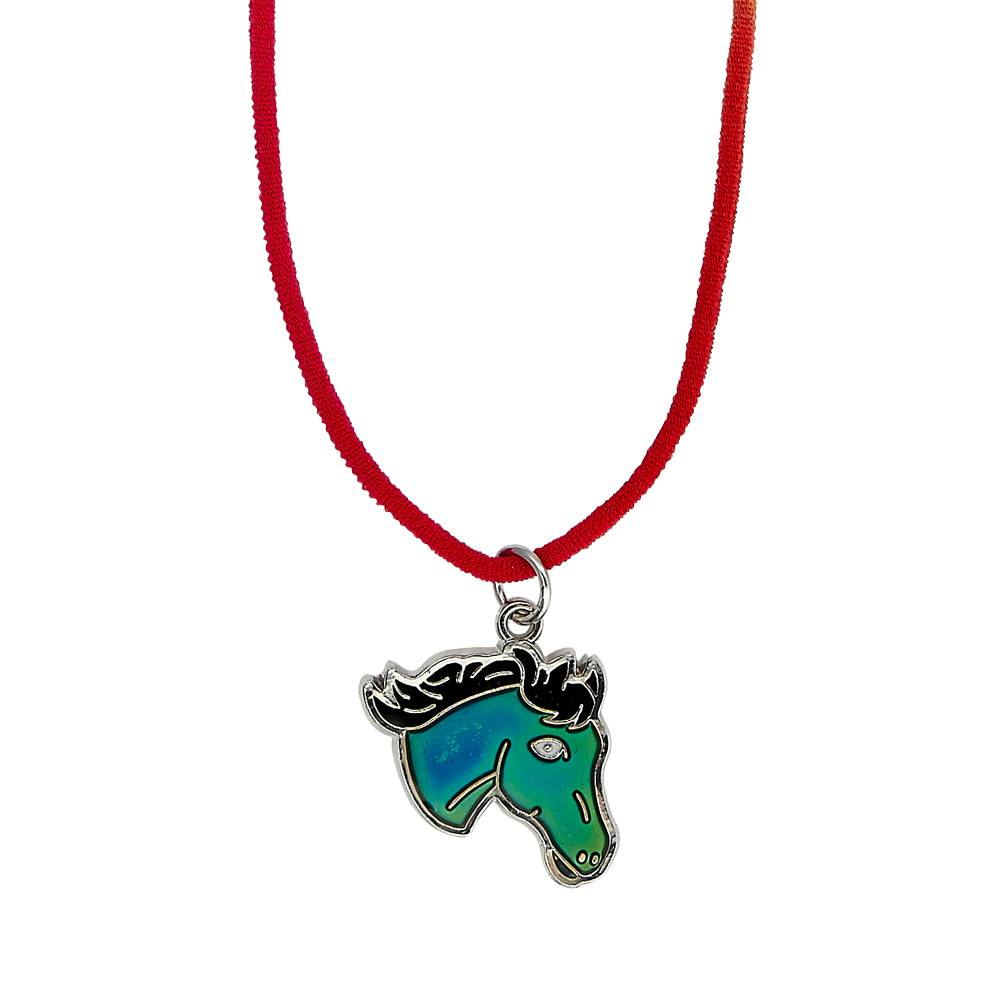 Kids' Horse Head Mood Necklace