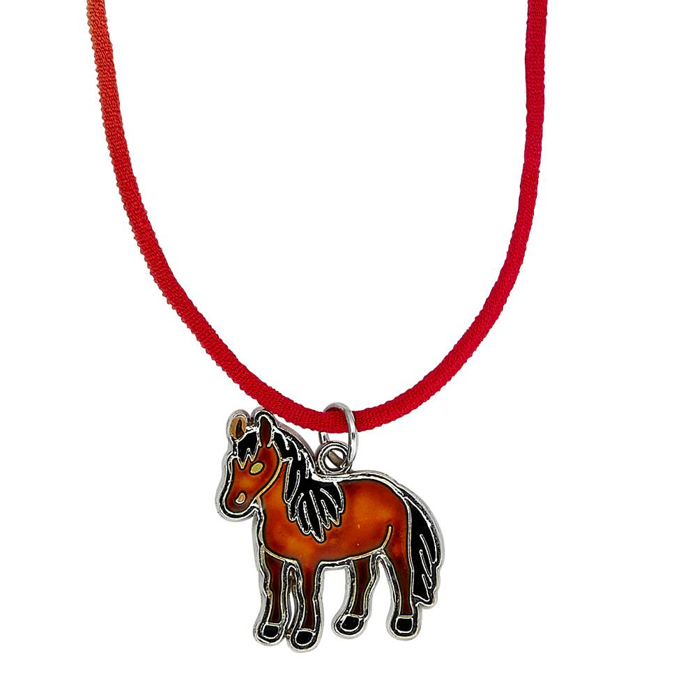 Kids' Horse Mood Necklace